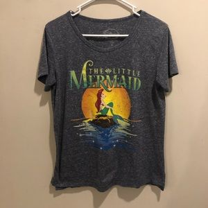 Disney The little mermaid Ariel graphic t shirt